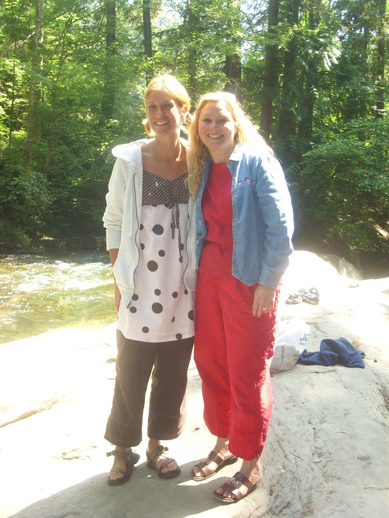 Danica Kilander and Rishi's Mom
