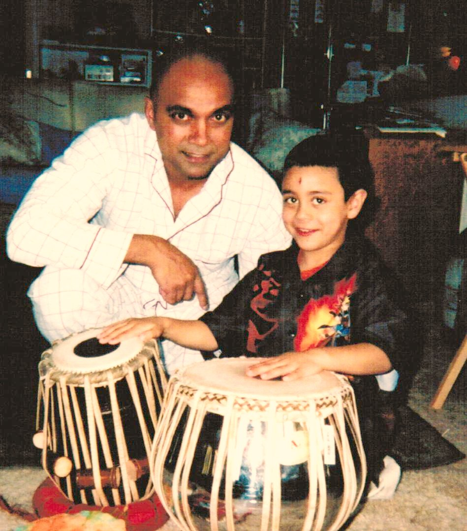 Rishi's first tablas from India
