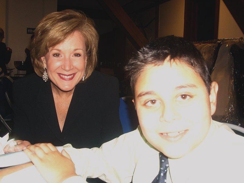 Margaret Larson and Rishi