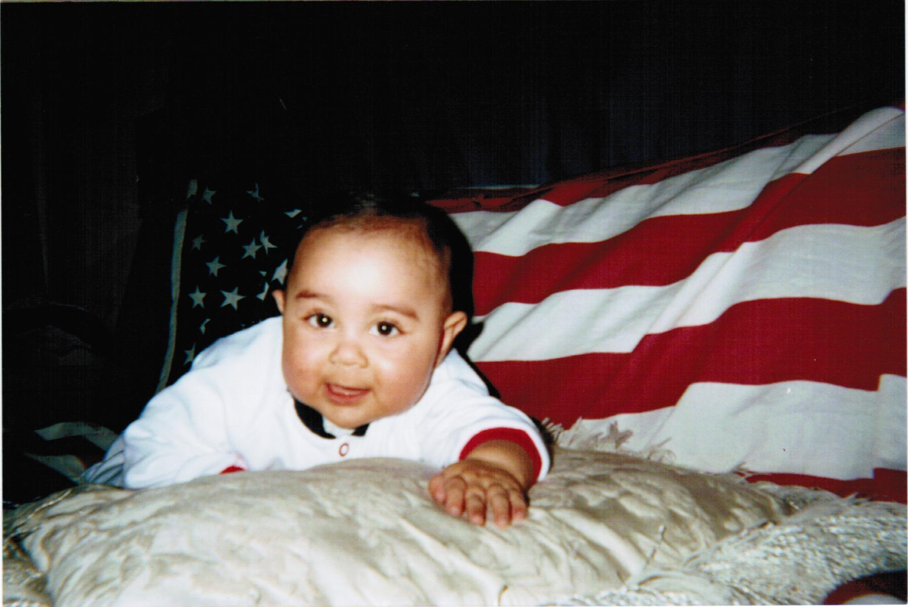 Rishi the proud American.